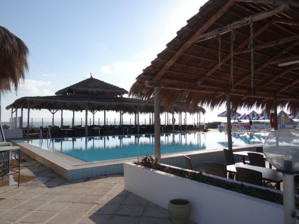 La Piscine Et Le Snack Hotel Al Jazira Beach Spa Midoun