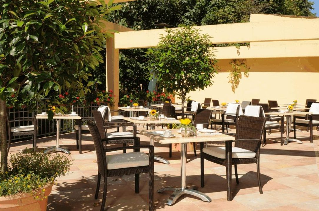 Frühstücksterrasse Hotel Marburger Hof