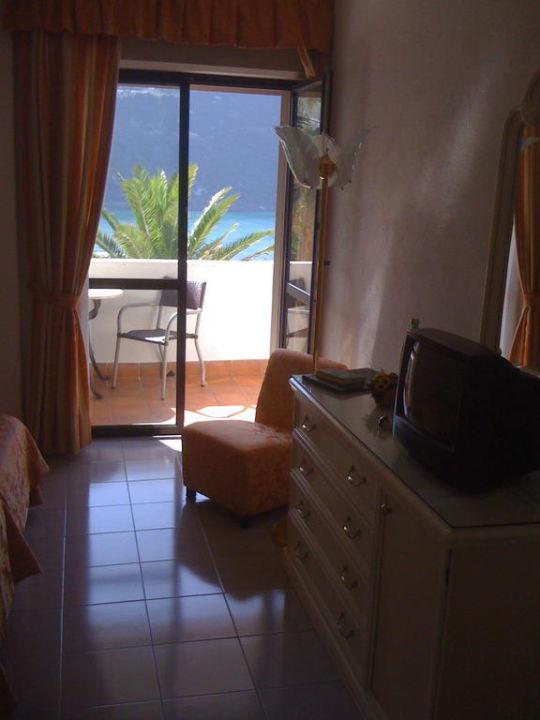 Blick auf den Balkon Hotel Royal Palm Terme & Parco San Marco