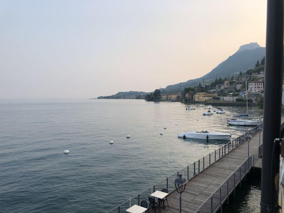 Ausblick Hotel Garni Riviera