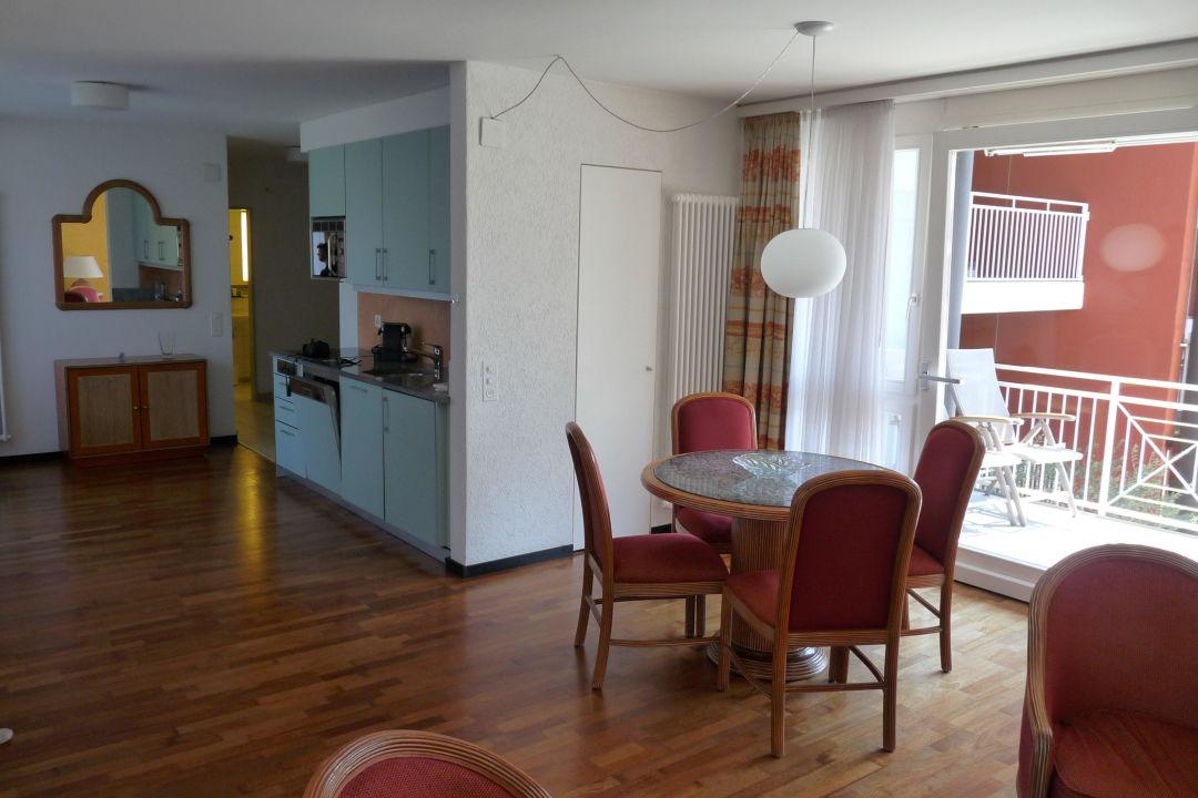 Wohnzimmer Mit Offener Küche Hapimag Resort Ascona