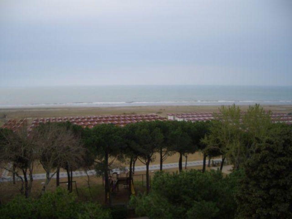 Blick von der Dachterrasse Hotel Venezia 2000