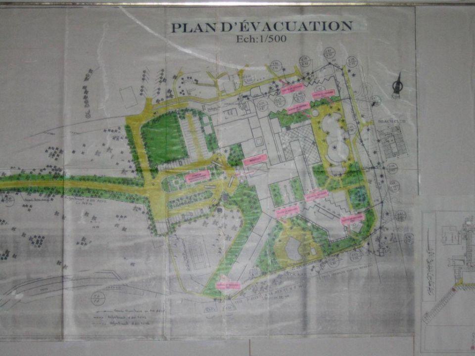 Lageplan Lti Vendome El Ksar Resort U0026 Thalasso