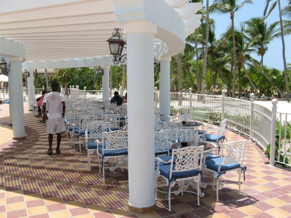 Poolterrasse Hotel Riu Palace Punta Cana