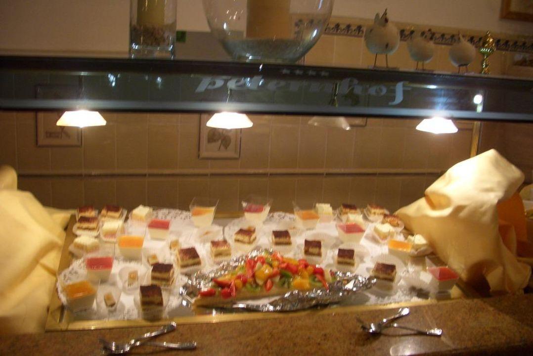 Dessertbüffet Hotel Peternhof