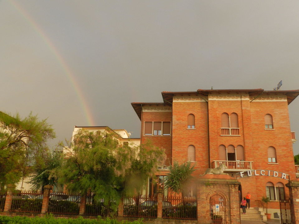 Arcobaleno su Villa Fulgida Hotel Villa Fulgida