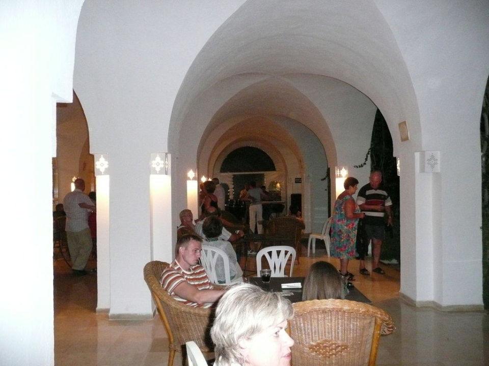 Der schönste Teil des Reataurants Hotel Shalimar