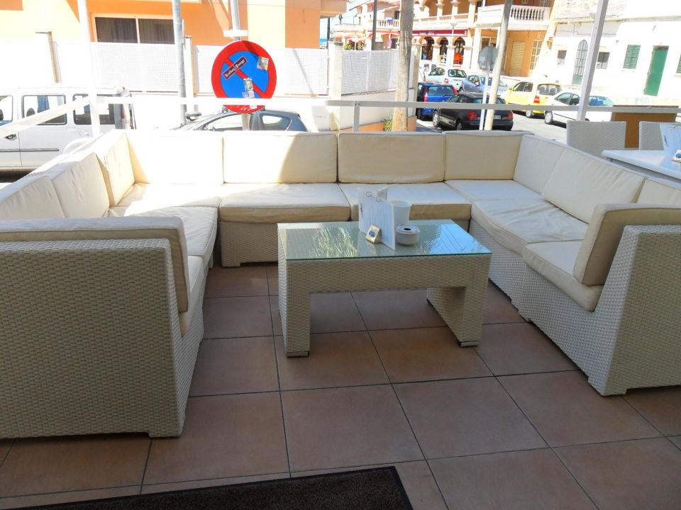 Gemütliche Sitzlounge Hostal Playa De Palma