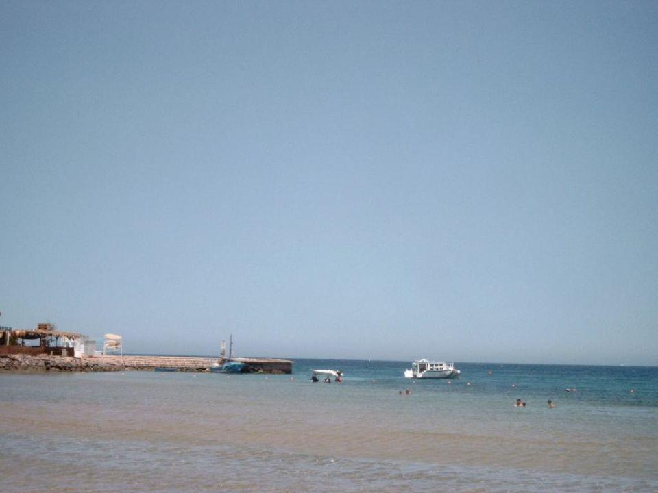 linker Anlegesteg Sol Y Mar Hotel Paradise Beach