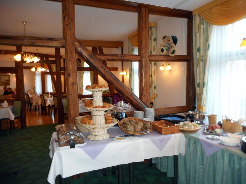 Beim Frühstück Hotel Victoria