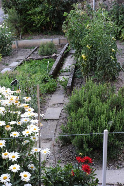Notre jardin Auberge de la Gare