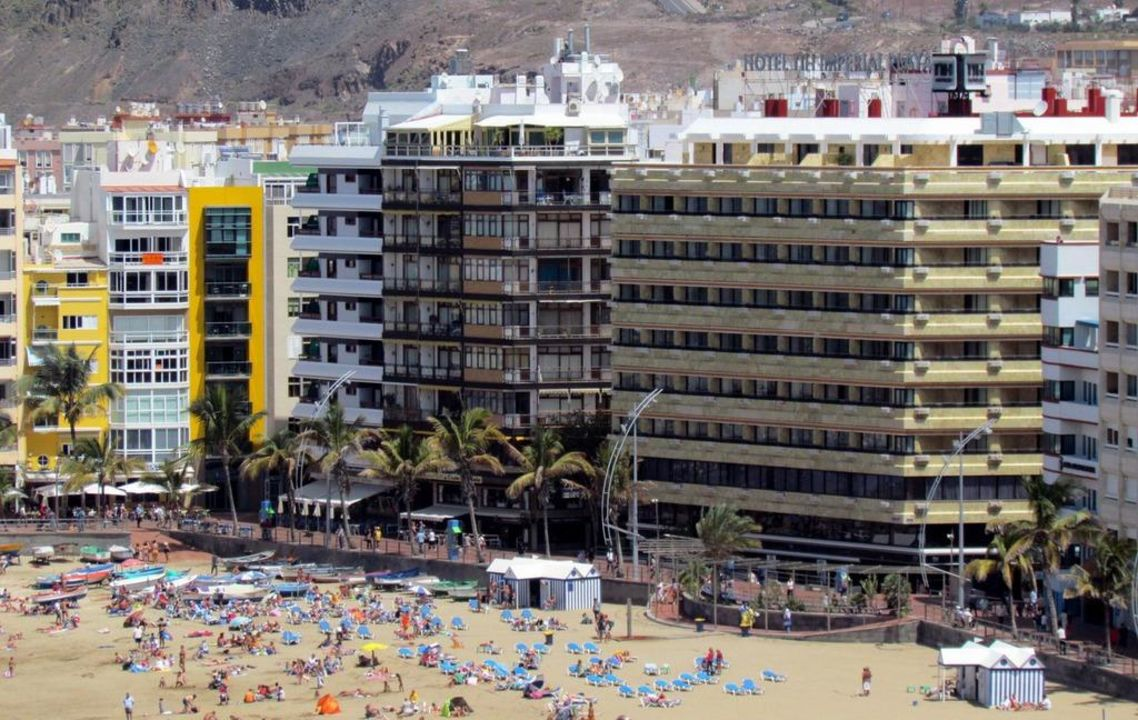 Seen from Hotel Cristina (ex Melia) NH Imperial Playa