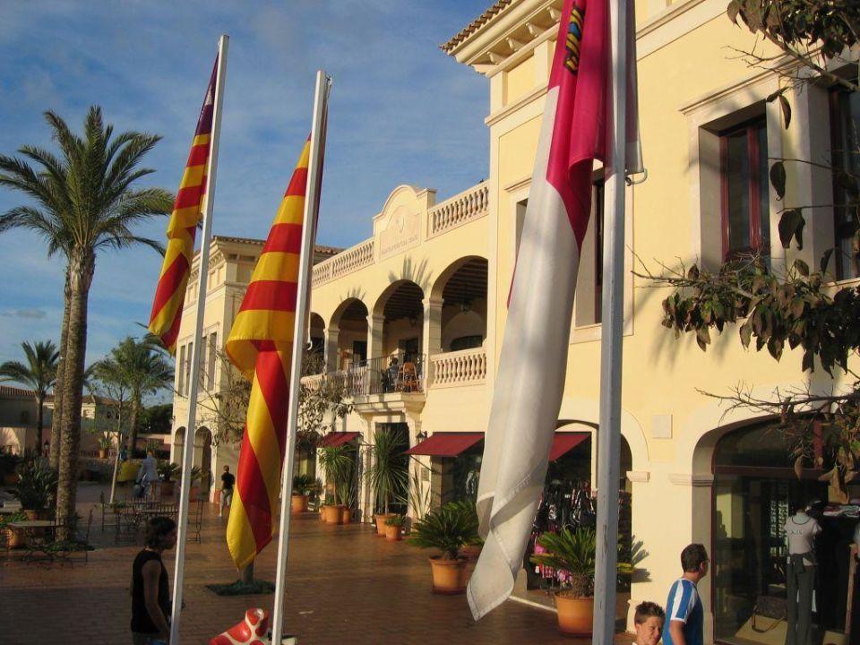 Blick auf das Restaurant ROBINSON CLUB CALA SERENA