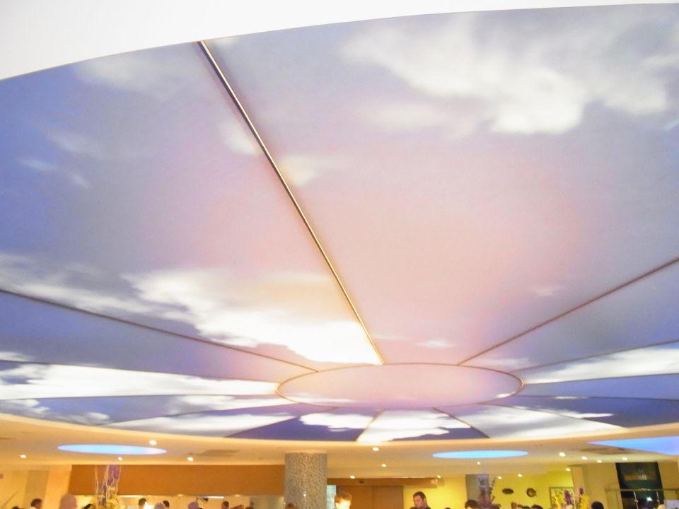 Bild deckenbeleuchtung mit led zu blue waters club in for Deckenbeleuchtung led