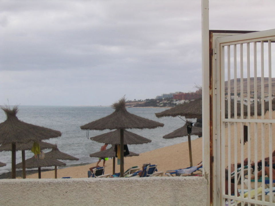 Eigener Strand -hier bei schlechtem Wetter! SBH Costa Calma Beach Resort