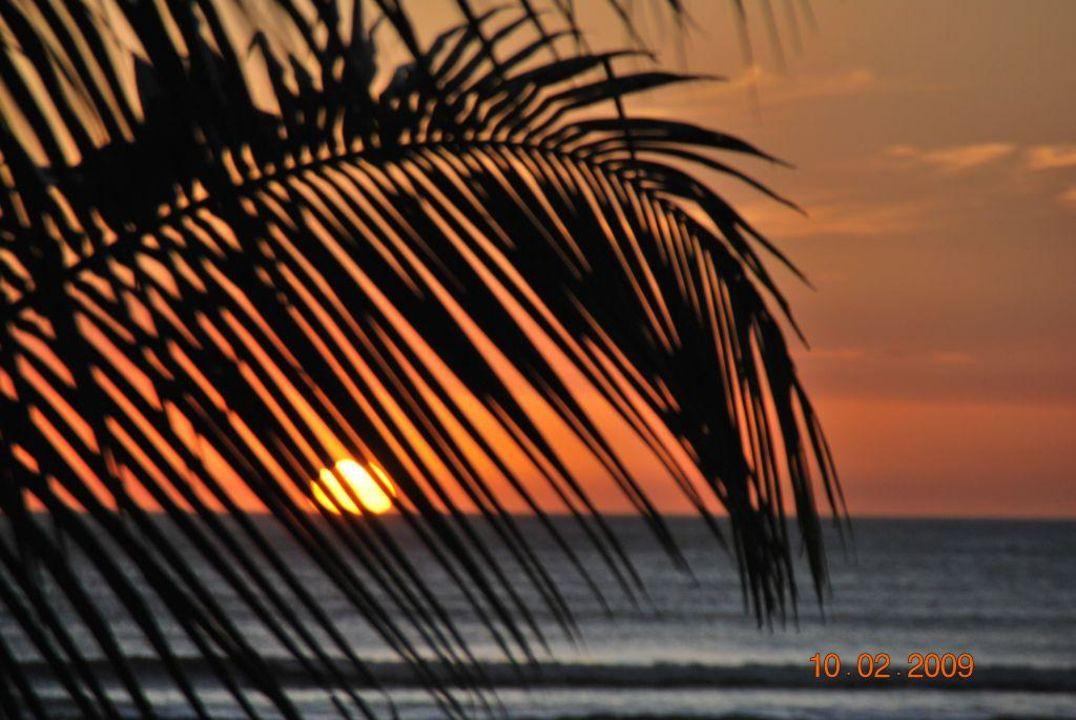 Sonnenuntergang in Montelimar Hotel Barcelo Montelimar