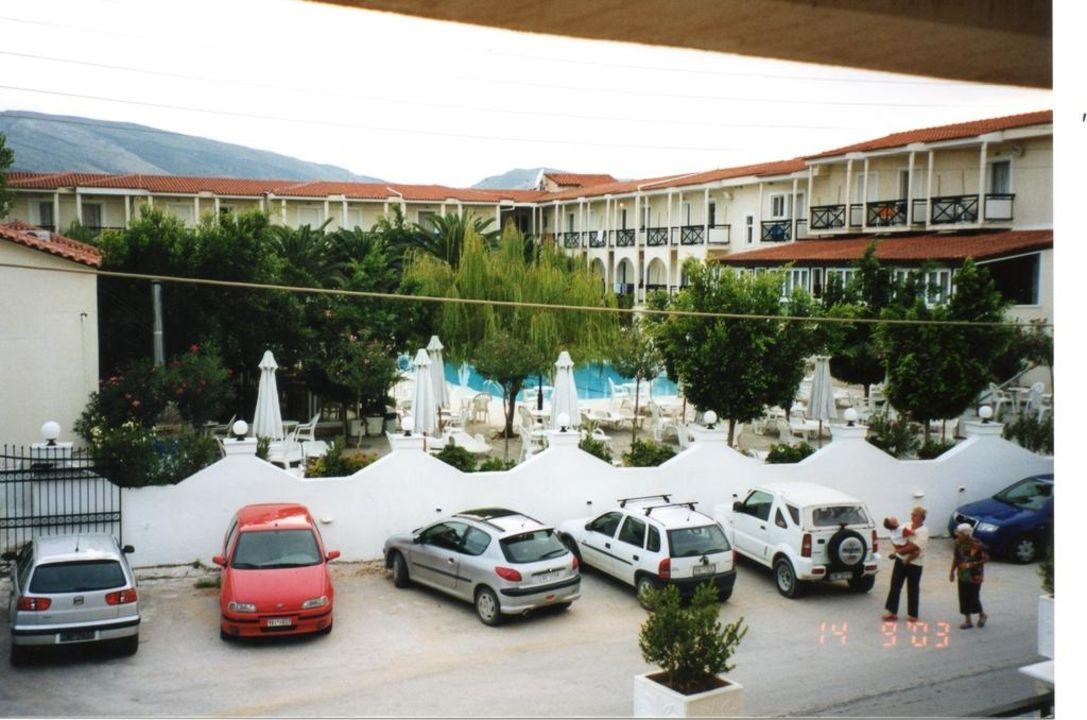Sicht von unserem Nebengebäude! Zante Park Resort & Spa - BW Premier Collection