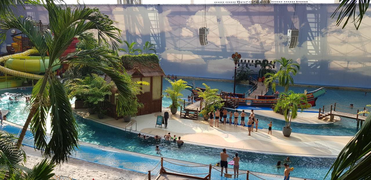 Ausblick Tropical Islands Resort