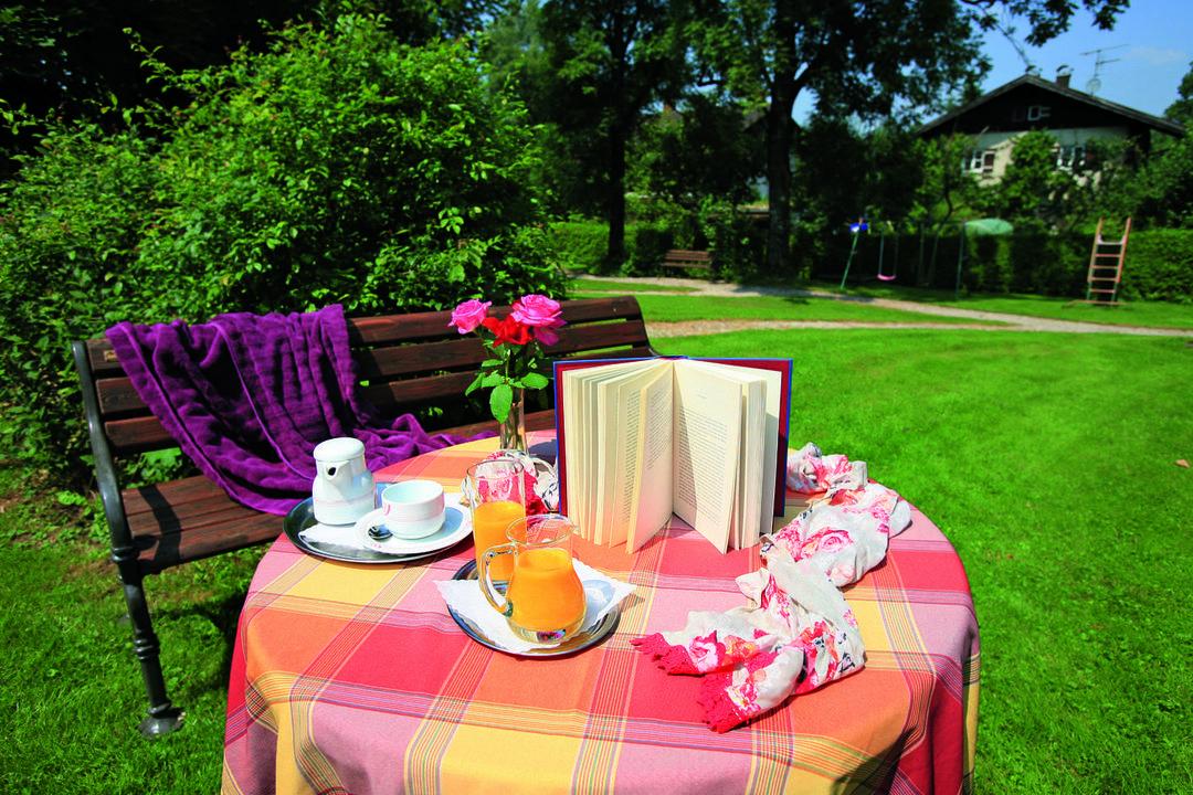 Relaxen in unserem Garten Hotel Seeblick