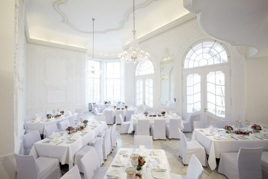 Barocksaal im Sengerschloss\