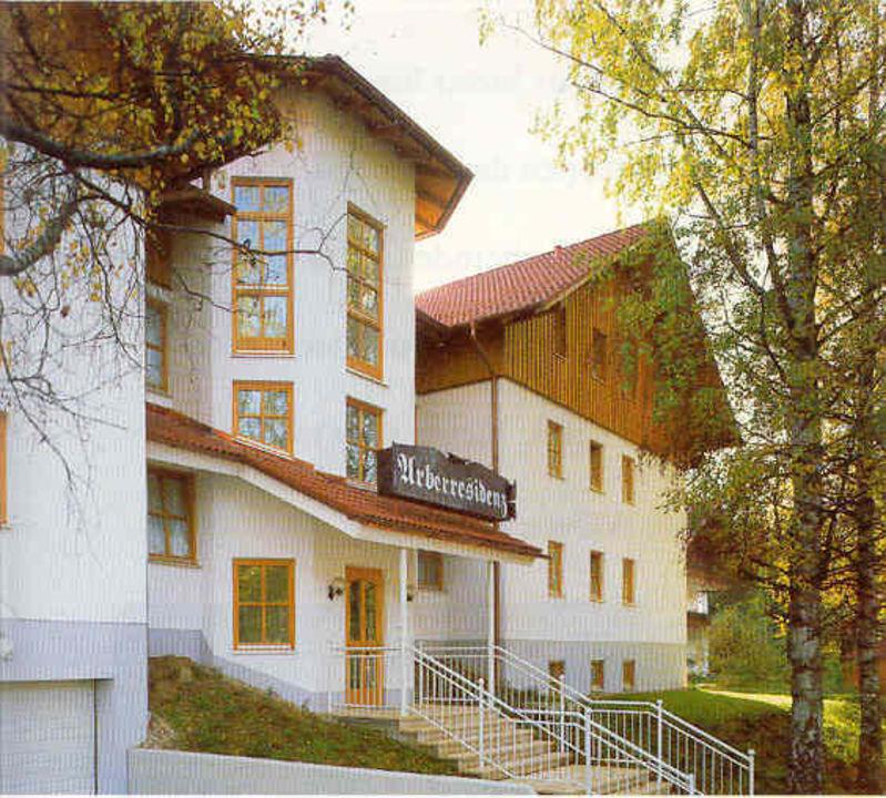 Arberresidenz Eingang Hotel Arberresidenz