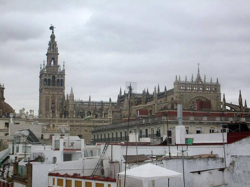 Kathedrale vom Dach aus Luxury Apartments Seville Center