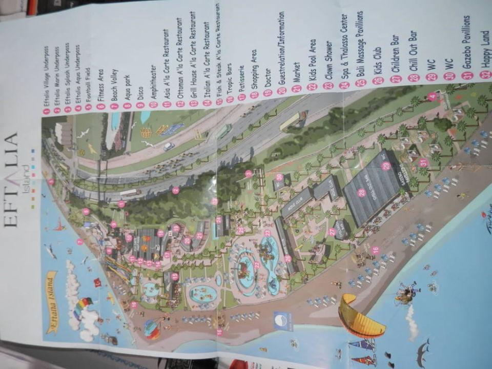 Türkische Riviera Karte.Island Karte Eftalia Marin Avsallar Holidaycheck Türkische