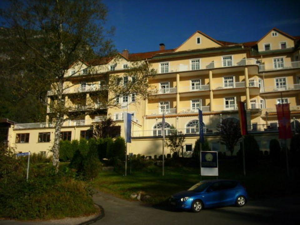 Schwimmbad auf der Linken Seite Grand Hotel Sonnenbichl