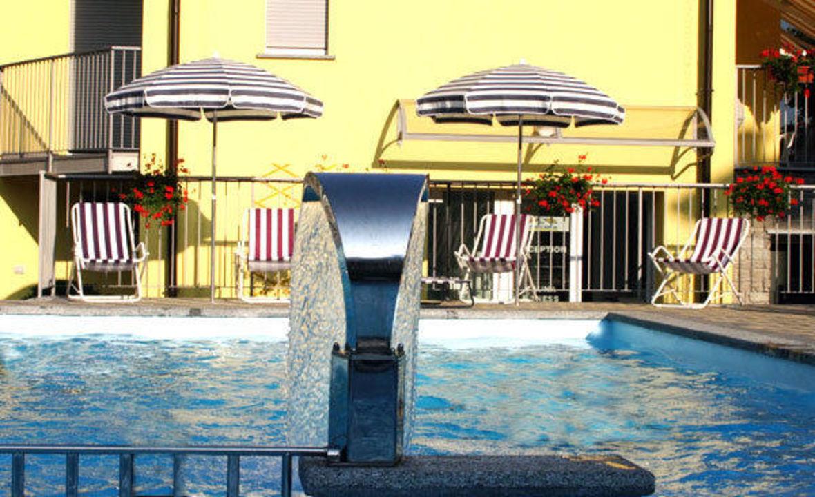 Piscina Residence Domaso Resort & Spa
