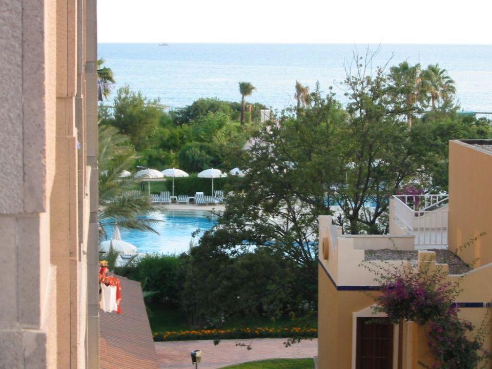 Blick vom Zimmer aus Green Imperial Beach Hotel