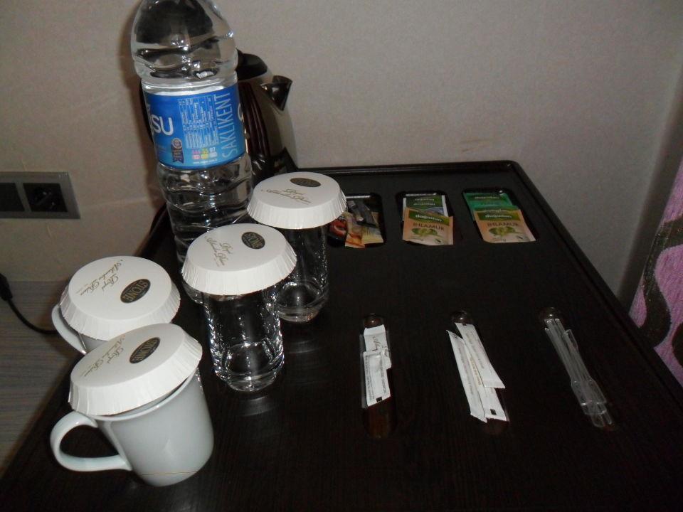 Kaffee, Tee und Softgetränke\