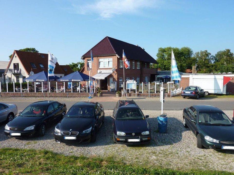Frontansicht Fährhaus Fehmarnsund