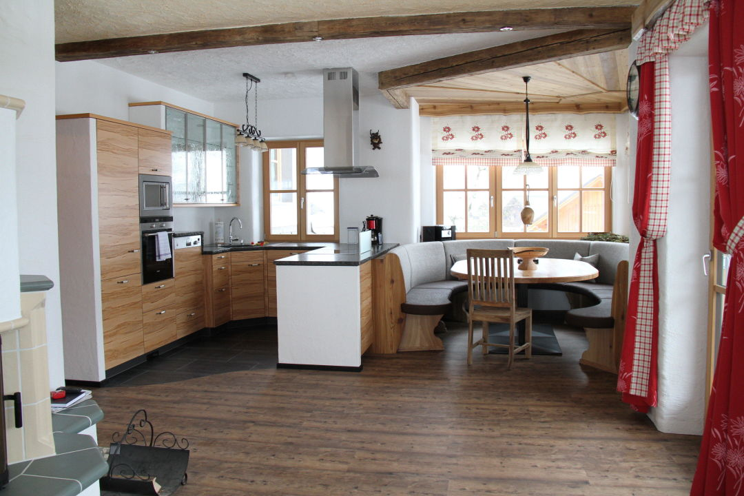 """küche mit eßzimmer für 10 personen"""" alpenchalet-gosau in gosau, Attraktive mobel"""