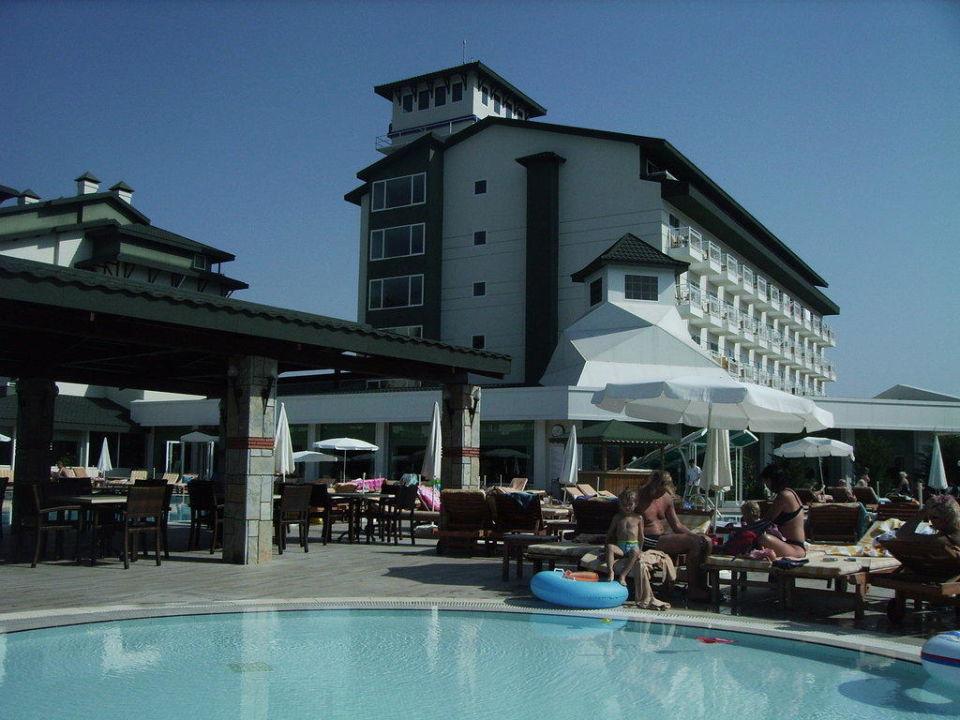 Ansicht vom Pool Innvista Hotels Belek