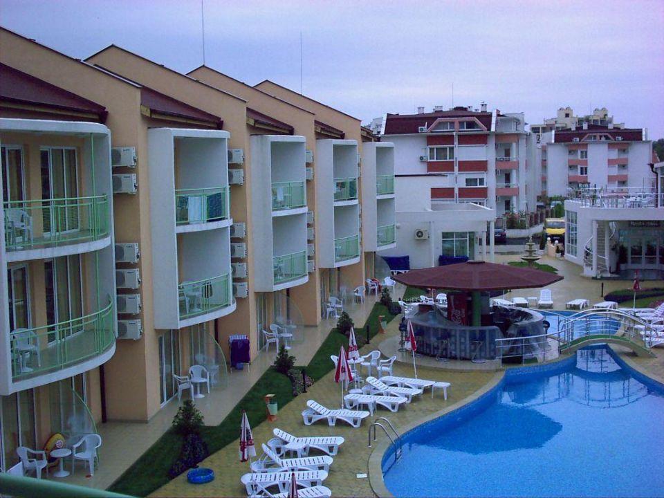 Hotelpool mit Nebengebäude Hotel Sun City