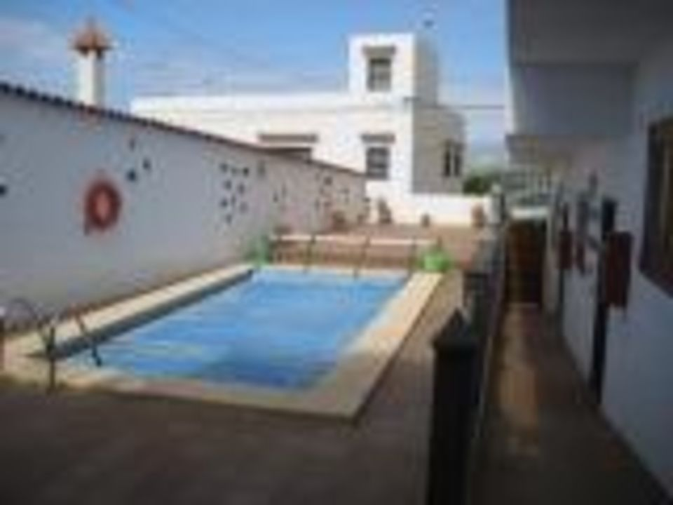 Pool  Hotel Casa Justina La Hoya