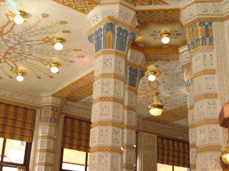 Decken Art Deco Imperial Hotel