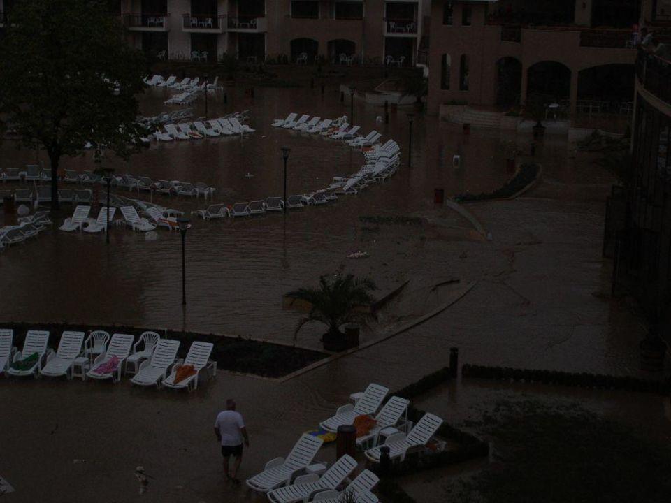 Am Morgen der Überschwemmung HVD Clubhotel Miramar