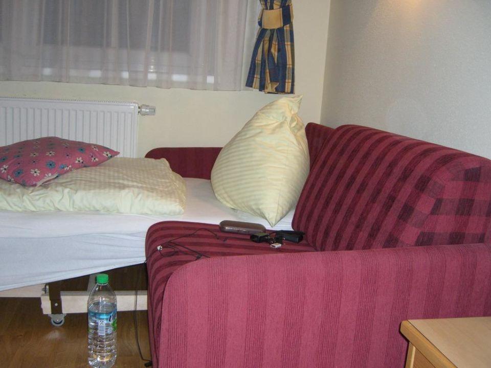 Schlafsofa Hotel Bergdiamant Garni