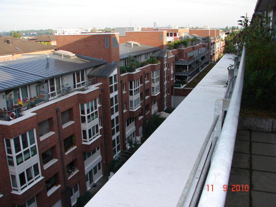 Blick von der Terrasse Hotel Park Consul Köln