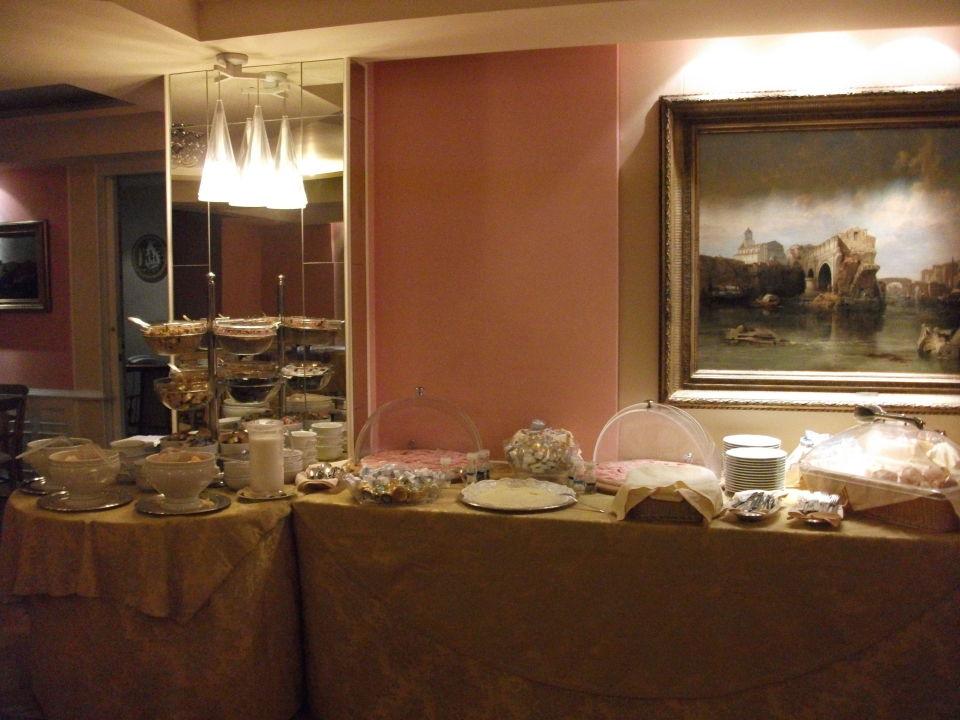 Frühstücksbuffet Hotel Londra Cargill