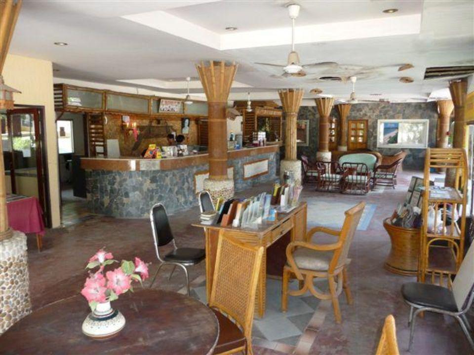 Rezeption Sandy Resort