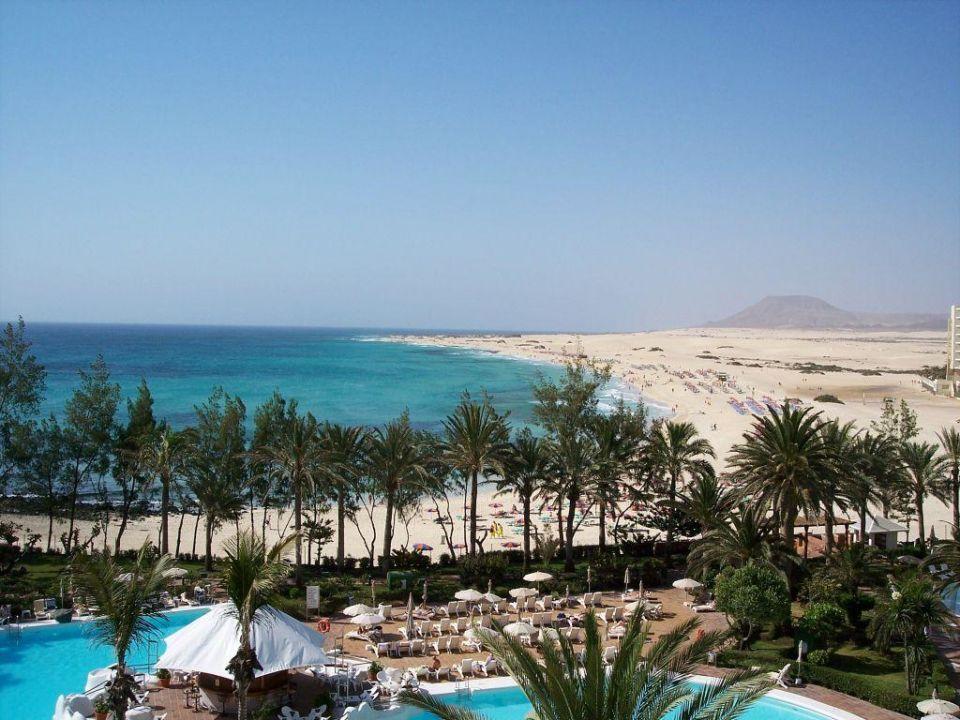 Aussicht Balkon Hotel Riu Palace Tres Islas Corralejo