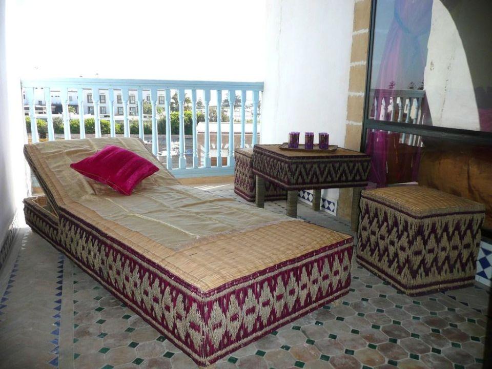 Petite terrasse du deuxième étage Appartement Charme Essaouira