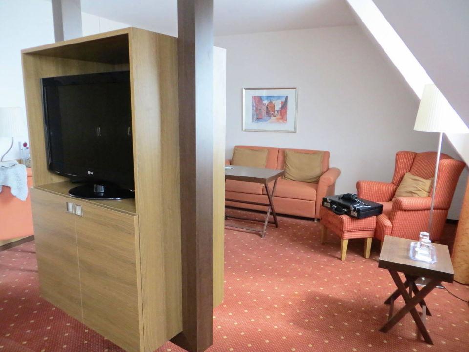 Superior DZ, Sitzecke Hotel Holiday Inn Nürnberg City Centre