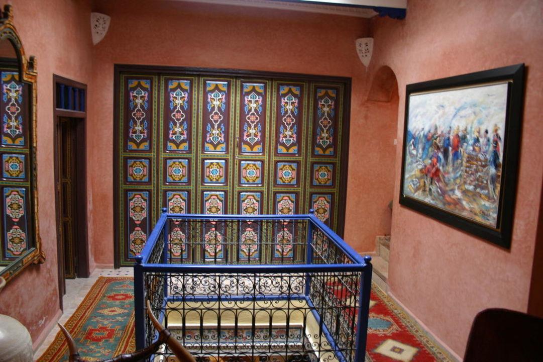 Frente dormitorio 2 - Habitación cuádruple. Hotel Riad Eowa