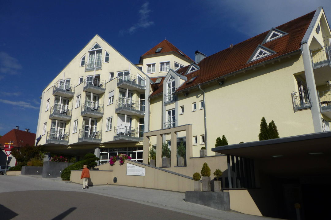 Blick Auf Den Neubau Seeblick Hotel Traube Am See