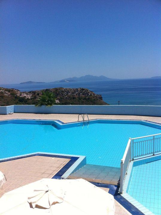 Pool und Aussicht Hotel Pantheon Studios