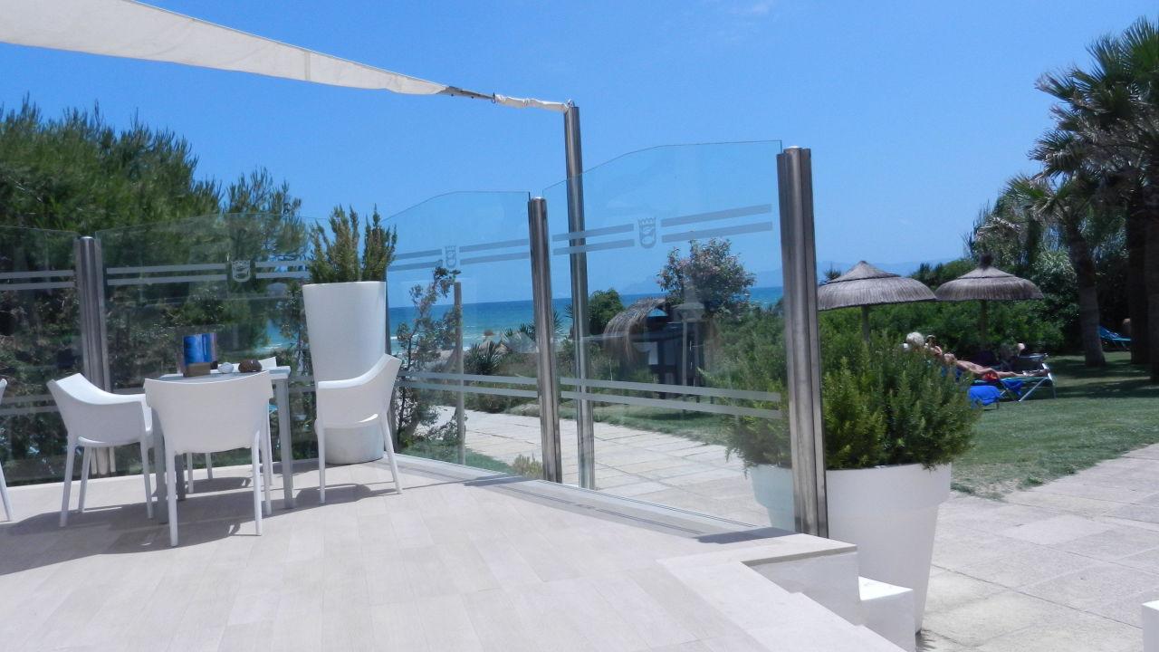 Ausblick von der Bar Playa Esperanza Suites