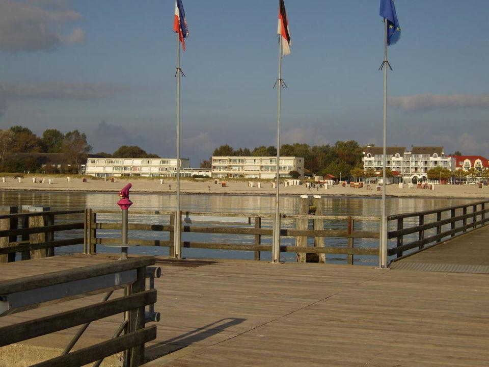 Blick auf das Ostseehotel Ostsee-Hotel